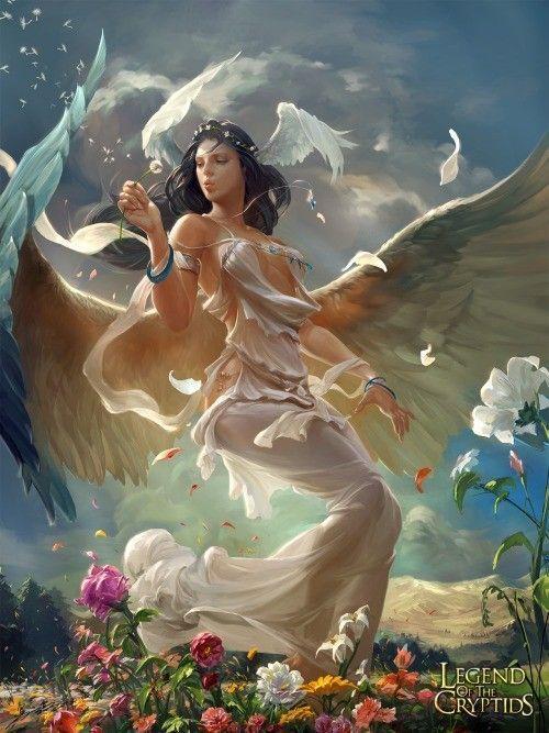 ange de lumière...